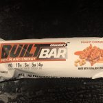 Built Bar Peanut Caramel Review - mis KO par Cétogène